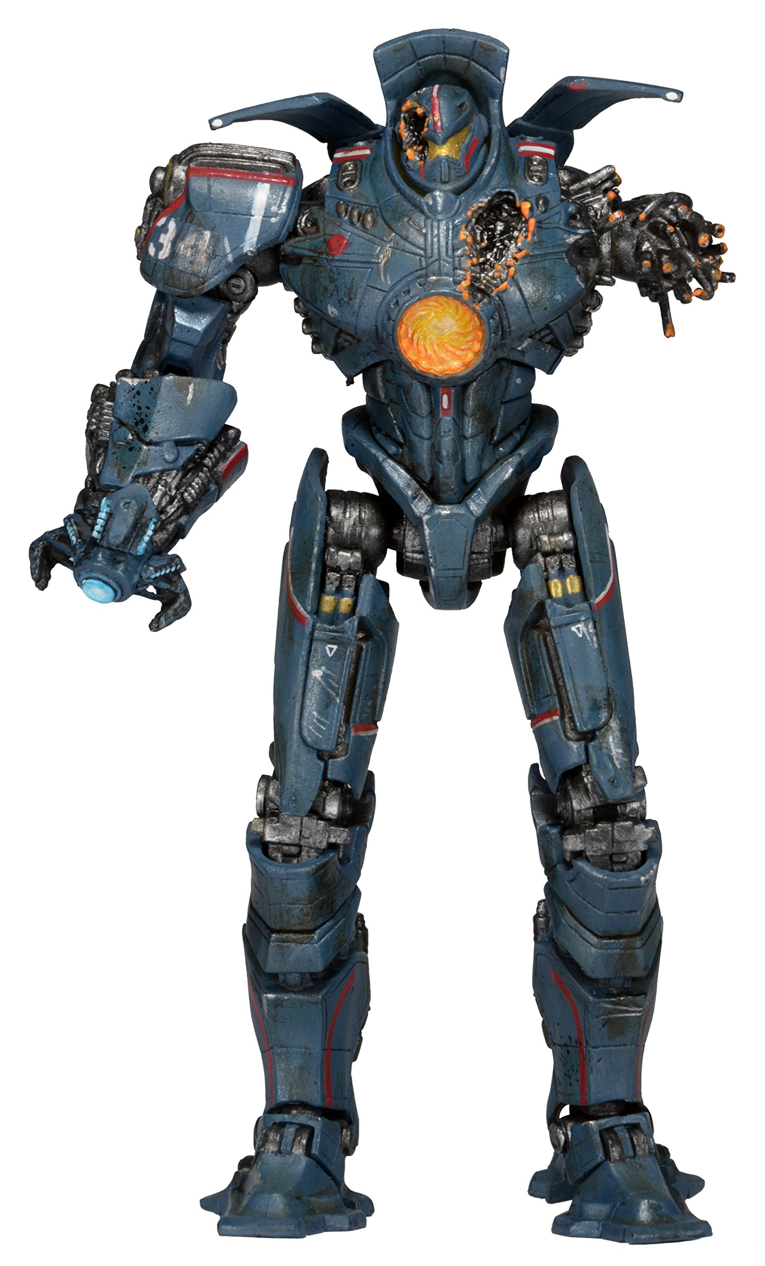 """NECA Pacific Rim Series 5 Anchorage Attack Gipsy Danger 7"""" Deluxe Action Figure"""