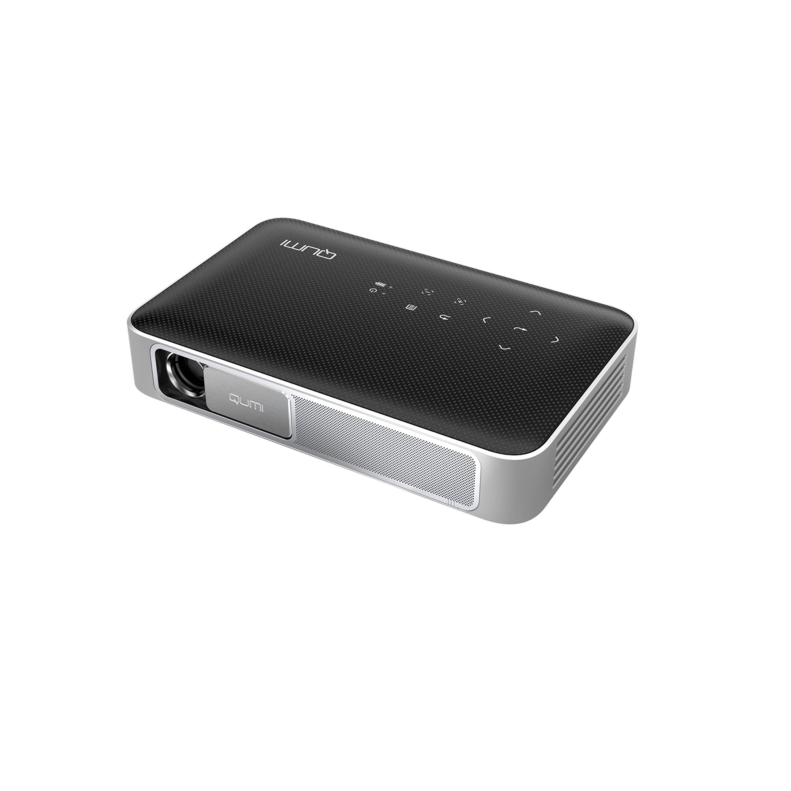 Vivitek Q38-BK Ultra-Portable Full HD Smart Projector Black (Renewed)