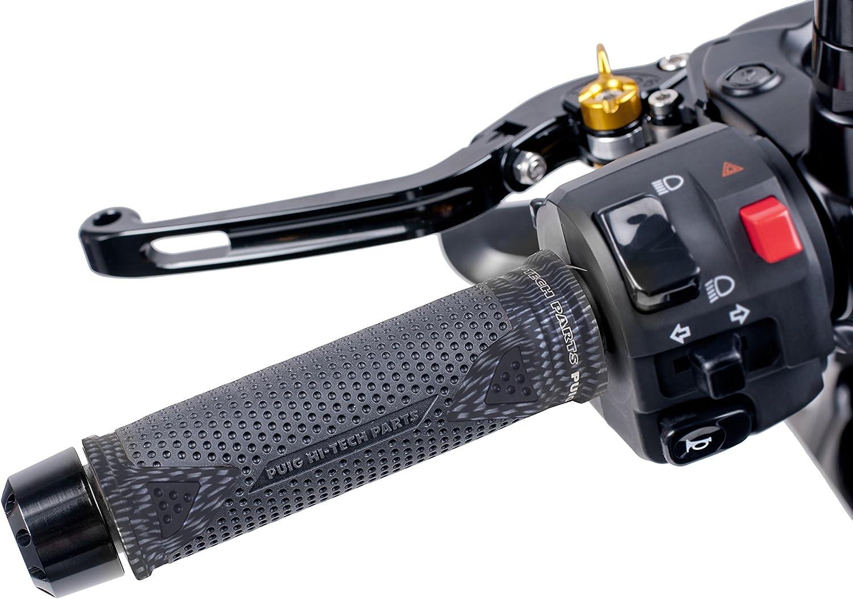 Puig 6325C Carbon Aluminum Hi-Tech Radical Grips Pair