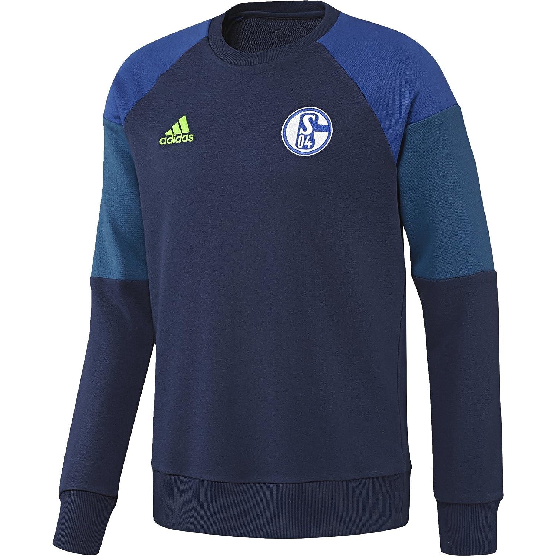 Adidas Herren FC Schalke 04 Sweat Top Sweatshirt