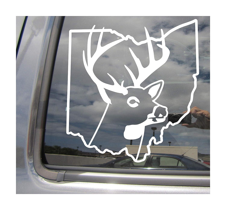 Arkansas Deer Hunter Hunting Season Outdoor Car Window Vinyl Decal Sticker 01209