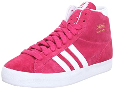pretty nice ca905 a0226 adidas Originals Women s BASKET PROFI W Hi-Top Slippers, (Blaze Pink S13