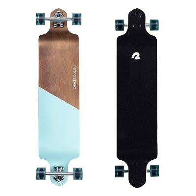 Buy Retrospec Tidal 41 Inch Drop Down Longboard Skateboard Complete Online In Italy B08xs6qjfr