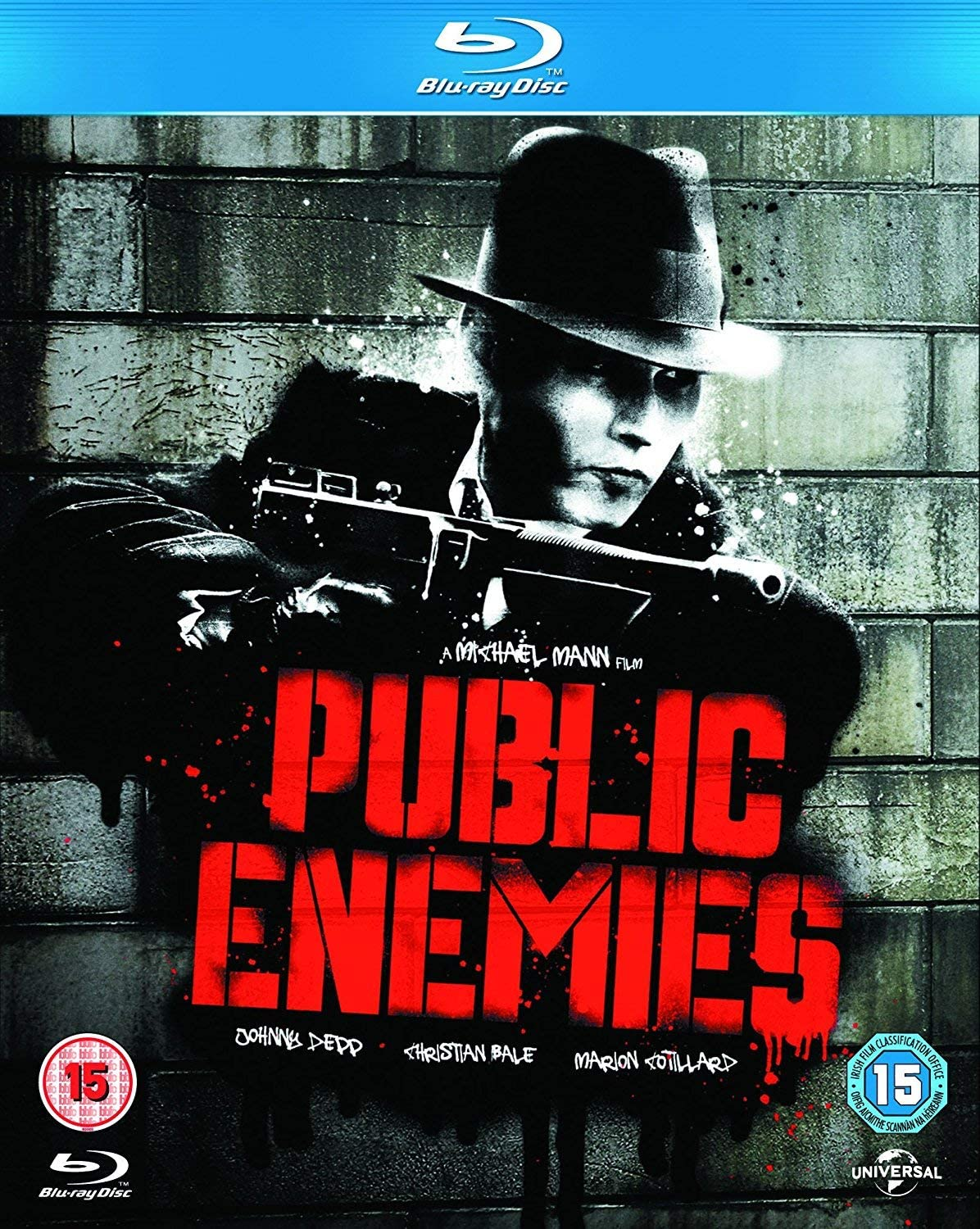 Public Enemies Screen Outlaws Edition Blu Ray 2009 Region Free Amazon Co Uk Christian Bale Johnny Depp Michael Mann Christian Bale Johnny Depp Michael Mann Kevin Misher Dvd Blu Ray