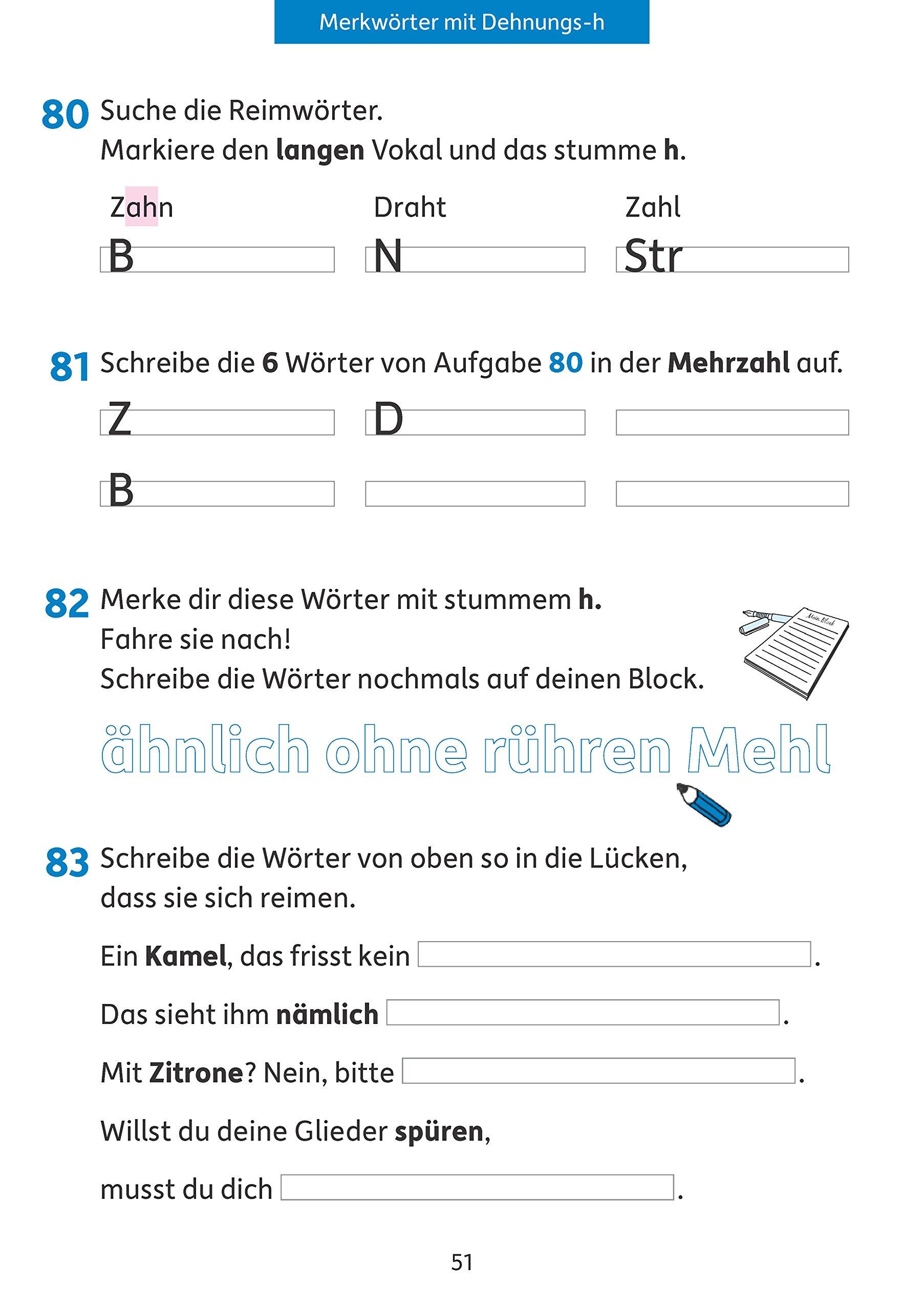 Rechtschreiben und Diktate 3. Klasse Deutsch: Rechtschreiben und ...