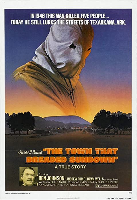 The Town That Dreaded Sundown Movie Poster 24 x 36 Inches Full Sized Print Unframed Ready for Display
