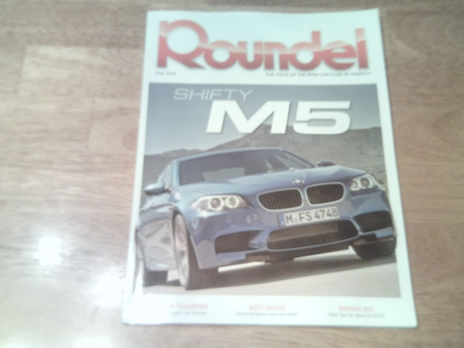 Amazon.com: Roundel Magazine, May 2013-The New M5 BMW: Home & Kitchen