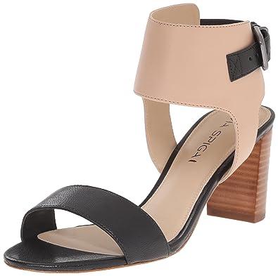 Via Spiga Womens Wiley Dress Sandal TaupeWhite Size 110