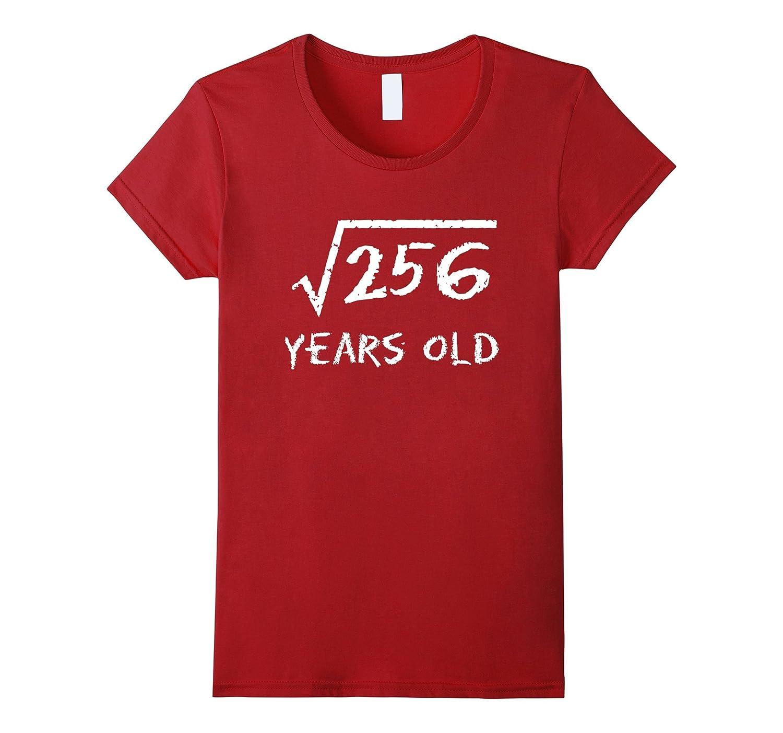 Mens Square Root 256 Birthday-Awarplus