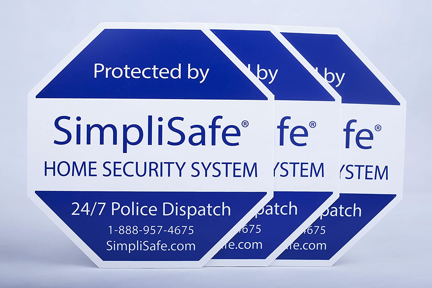 3x Yard Sign For Simplisafe Home Security System Ebay