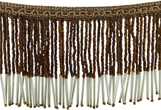 Fringe Beaded Tassel Crafting Ribbon Supply Upholstery Curtain Sewing By 1 Yard