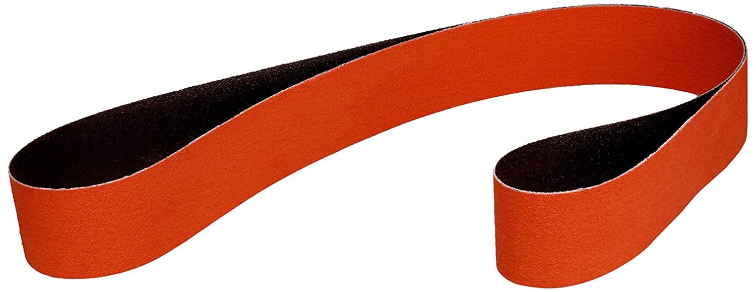 P120 X-Weight Ceramic 3M 46654 Cloth Belt 747D Pack of 1 Orange 2 x 18-15//16 2 x 18-15//16 3M Industrial Market Center