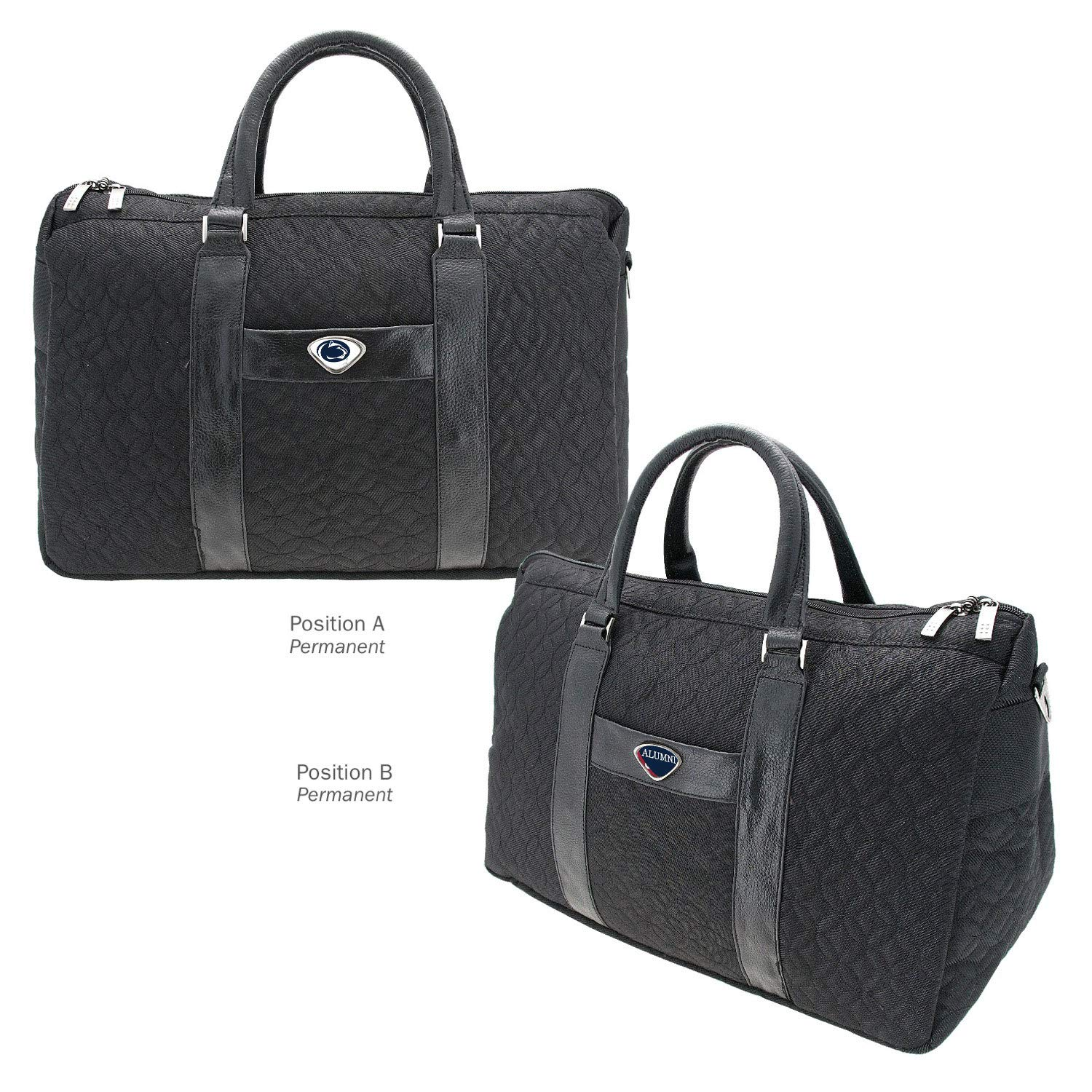 AdSpec NCAA Penn State Nittany Lions Collegiate Womens Duffel BagCollegiate Womens Duffel Bag One Size Black