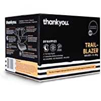 Thankyou Baby Nappies, Boys & Girls, Trail Blazer, Walker up to 13-18kg+ (64 Count)