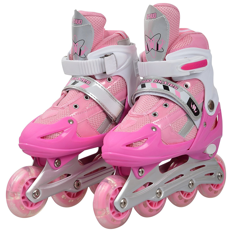 20b3ceada0f1 Buy IRIS Inline Skates IR 101 Size 6-8 UK Adjustable (Pink) Online at Low  Prices in India - Amazon.in