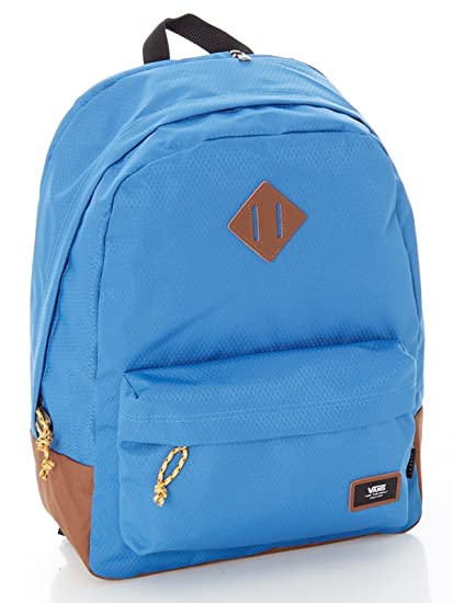 Vans Old SKOOL Plus Backpack Mochila Tipo Casual, 44 cm, 23 Liters, Azul (Delft/Toffee)