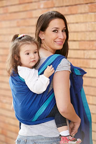 Amazon Com Woven Wrap Baby Carrier For Infants And Toddlers River