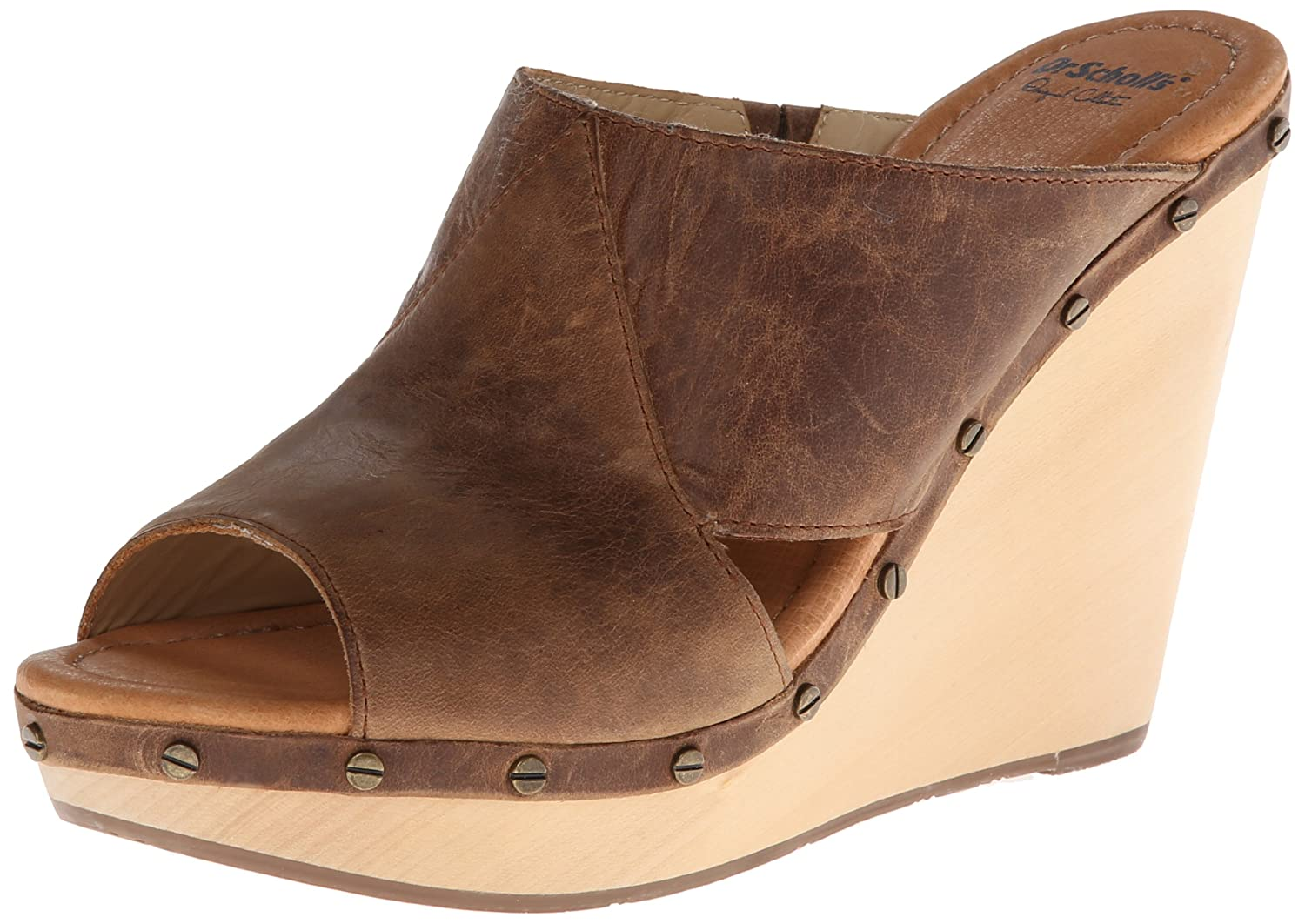 Dr. Scholl's Women's Farida Wedge Sandal B00HG5O1RK 8.5 B(M) US|Brown