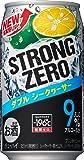 サントリー チューハイ-196℃ストロングゼロ<Wシークヮーサ> 350ml×24缶