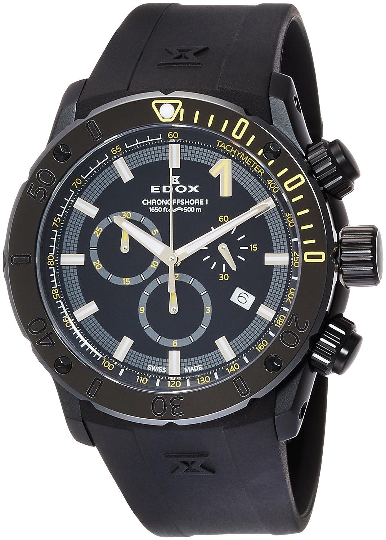 [エドックス]EDOX 腕時計 クロノオフショア1 クォーツクロノグラフ 10221-37N-NINJ メンズ 【正規輸入品】 B01HSWTLK2