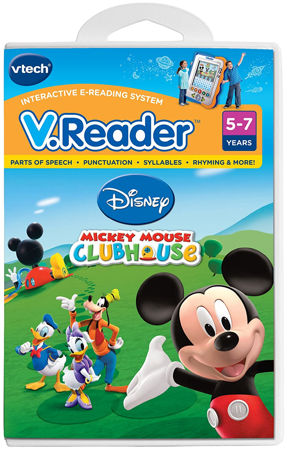 Vtech - V.Reader Software - Mickey Mouse Clubhouse V Tech 80-281000