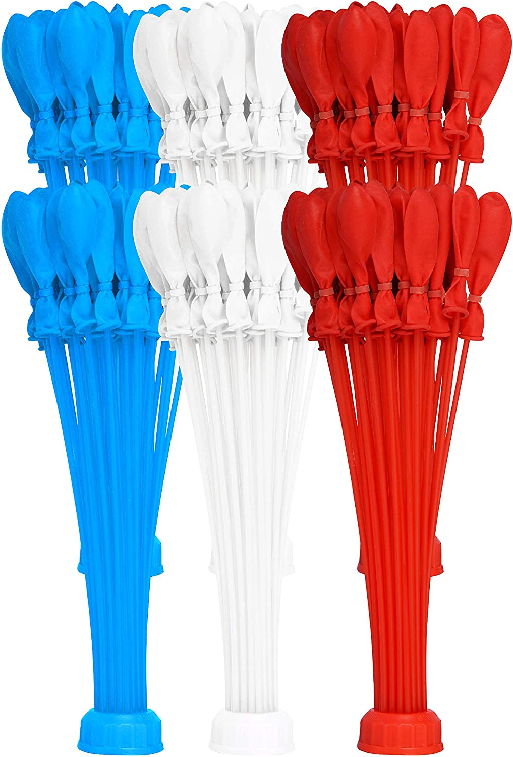 Bunch O Balloons Rapid-Filling Red, White and Blue Water Balloons 6 Pack (180 Balloons) (Amazon Exclusive)