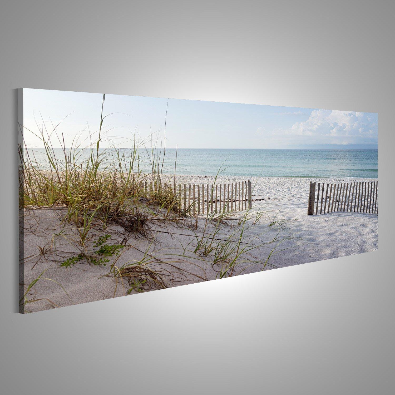 Cuadro Cuadros Paisaje de dunas, la playa y el océano en la salida ...