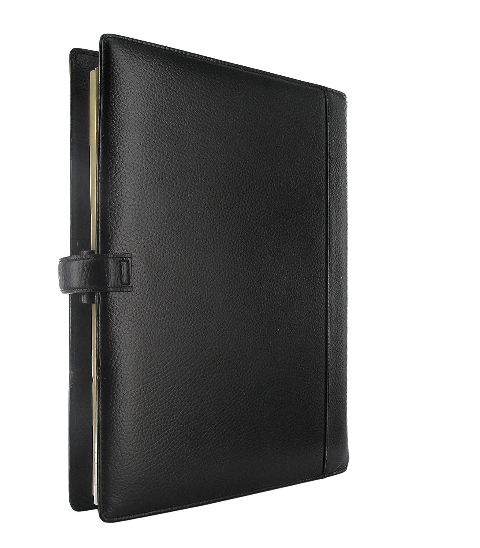 Filofax Finsbury 025321 - Agenda archivador (tamaño A4), color negro