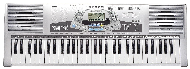 amazoncom bontempi keyboard with  professional keys musical  - amazoncom bontempi keyboard with  professional keys musical instruments