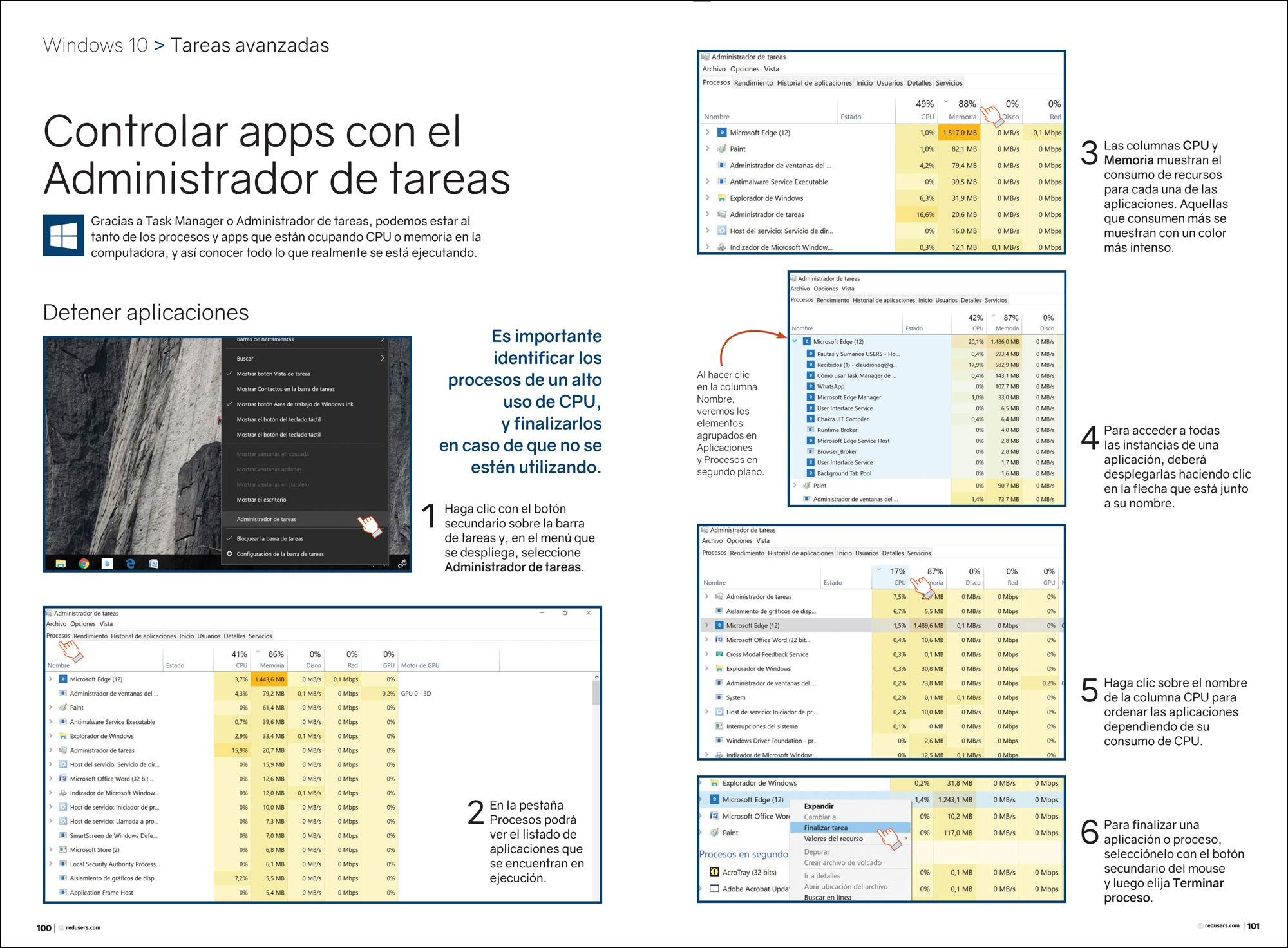 Windows 10 - Guía Práctica (Spanish Edition): Staff Users, USERS, Español Espanol Espaniol: 9789874958006: Amazon.com: Books