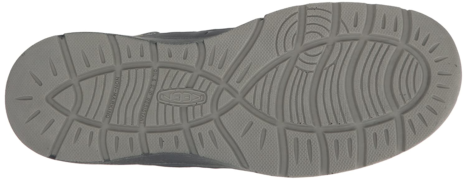 Keen Asheville Utility Men's Asheville Keen Alloy Toe ESD Industrial and Construction schuhe, Midnight Navy Warm Olive, 10.5 D US 9d65ae