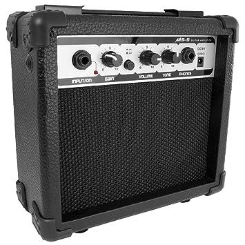 Tiger egt19-bk amplificador para guitarra eléctrica - negro: Amazon.es: Instrumentos musicales