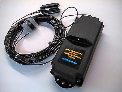 Amazon.com: Extremo Fed efhw-8010p 80 M-10 M. alambre antena ...