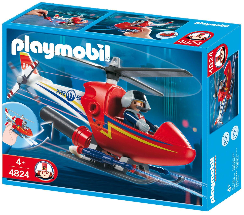 Playmobil Feuerwehr Zubehör - Playmobil Löschhubschrauber