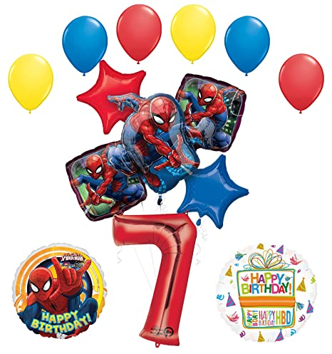 Amazon Com Mayflower Products The Ultimate Spider Man 7th Birthday