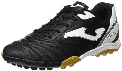 Joma Men's Aguila 601 Turf Black/White Soccer Cleat 7 Men Us