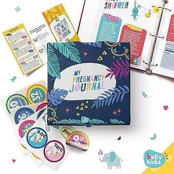 Amazon.com: My Pregnancy Journal, Baby Memory Book para ...