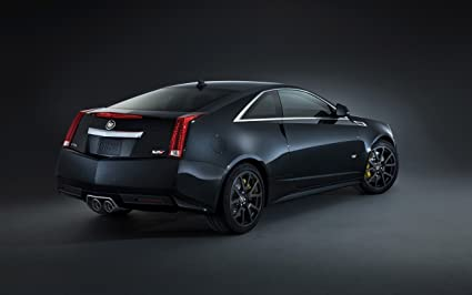 Amazon Com 2014 Cadillac Cts V Coupe 2 24x36 Poster Banner Photo