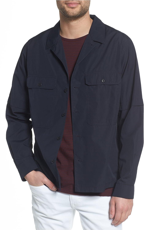 [ヴィンス] メンズ ジャケットブルゾン Vince Regular Fit Shirt Jacket [並行輸入品] B07DW3QWJ2 Small