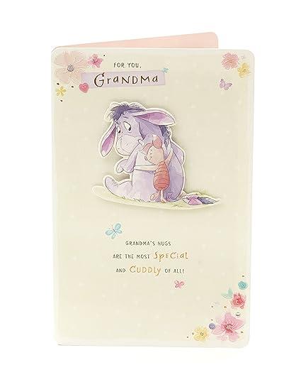 Amazon Disney Winnie The Pooh Eeyore Piglet Grandma Birthday