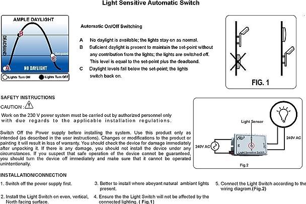 daylight sensor wiring diagram   30 wiring diagram images