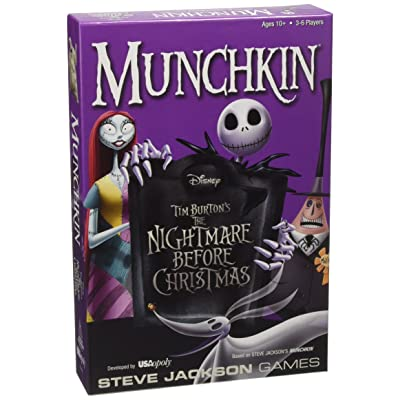 Munchkin Nightmare Before Christmas Card Game: Cards: Toys & Games