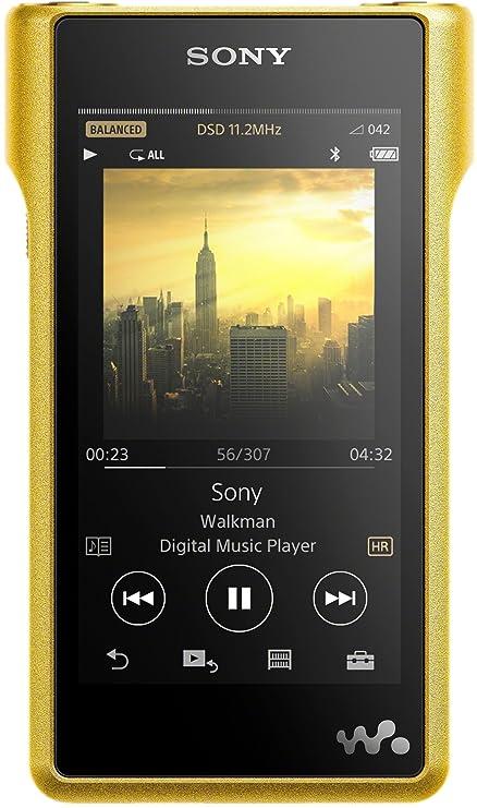 Sony NWWM1Z - Walkman de Audio de Alta resolución (256 GB de Memoria, Ranura Micro SD, S Master HX Engine, Carcasa de Cobre, Pantalla LCD LED ...
