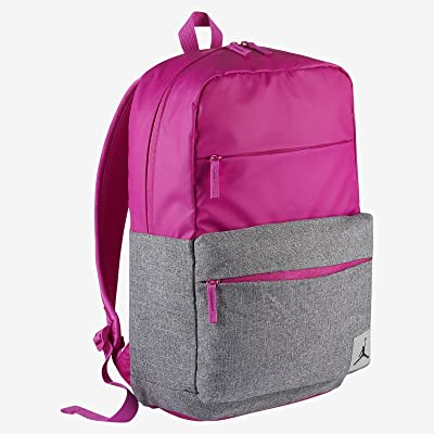 Nike Jordan Pivot Colorblocked Classic School Backpack (Fuschia Blast): Computers & Accessories