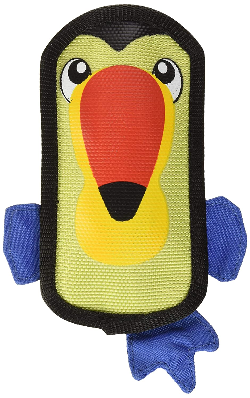 Outward Hound Fire Biterz Durable Tough Firehose Material Plush Dog Toy