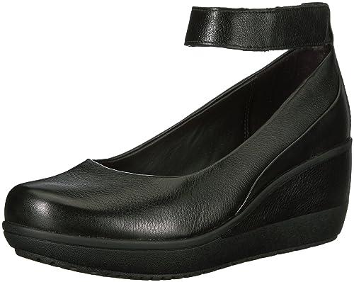 2582bc67c983 Clarks Women s Wynnmere Fox Pumps Aubergine  Amazon.ca  Shoes   Handbags