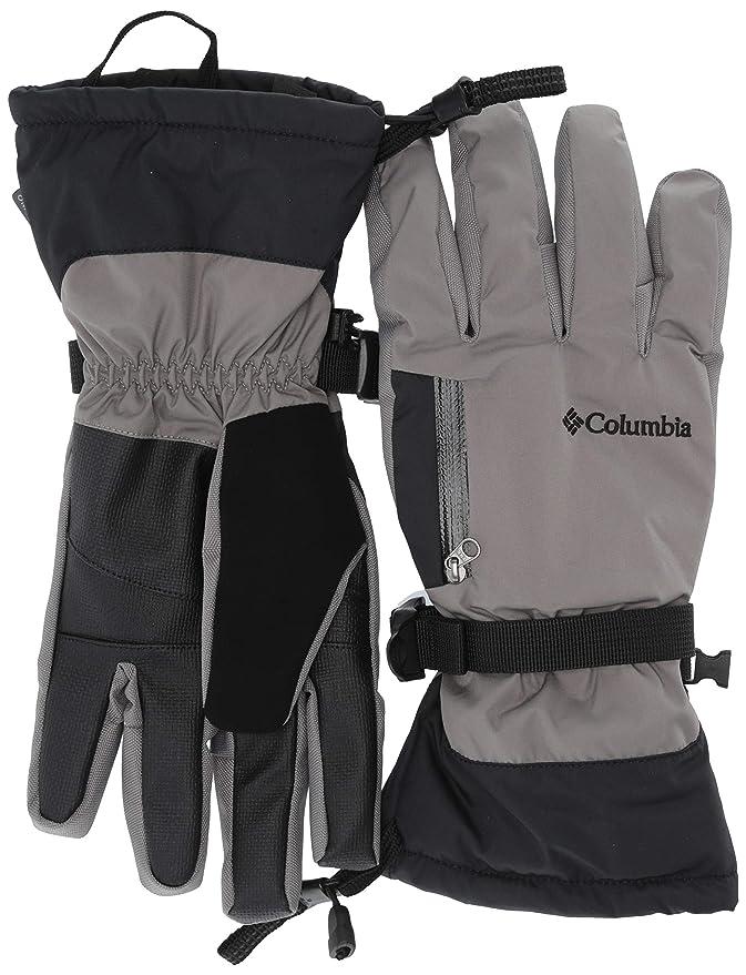 Columbia Men's Bugaboo Interchange Winter Ski Glove, Waterproof & Breathable, Boulder, Black, Small