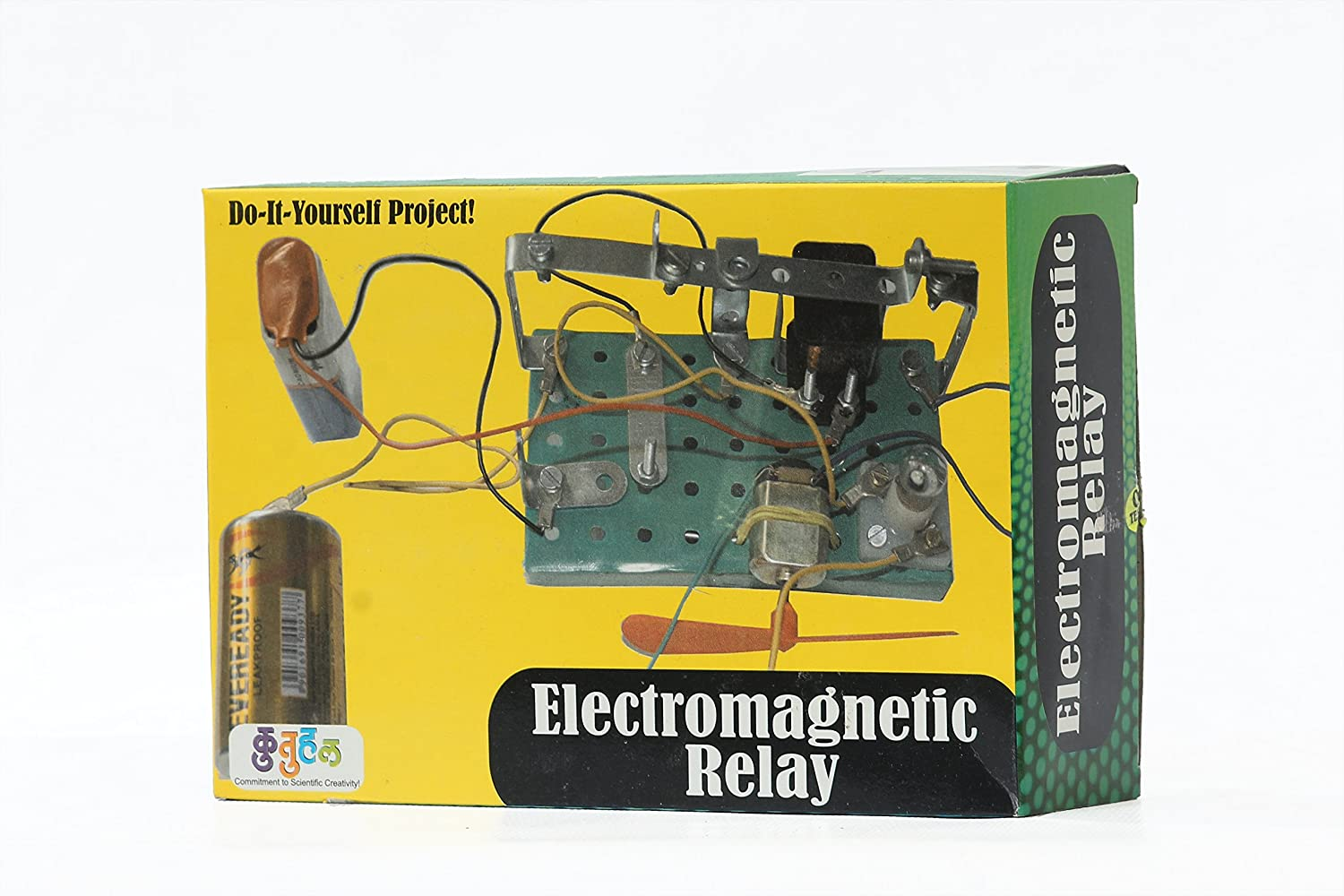 Buy Kutuhal Electromagnetic Relay Making Kit Do It Yourself In Pdf Educational Toy School Project Diy Online At Low Prices India