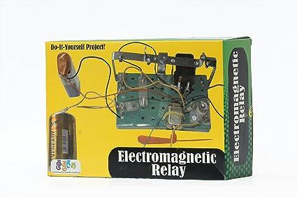 Buy kutuhal electromagnetic relay making kit do it yourself kutuhal electromagnetic relay making kit do it yourself educational toy school project solutioingenieria Gallery