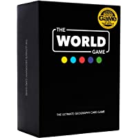 The World Game - Geography Card Game - Educational Board Game for Kids, Family & Adults - Cool Learning Gift Idea for…